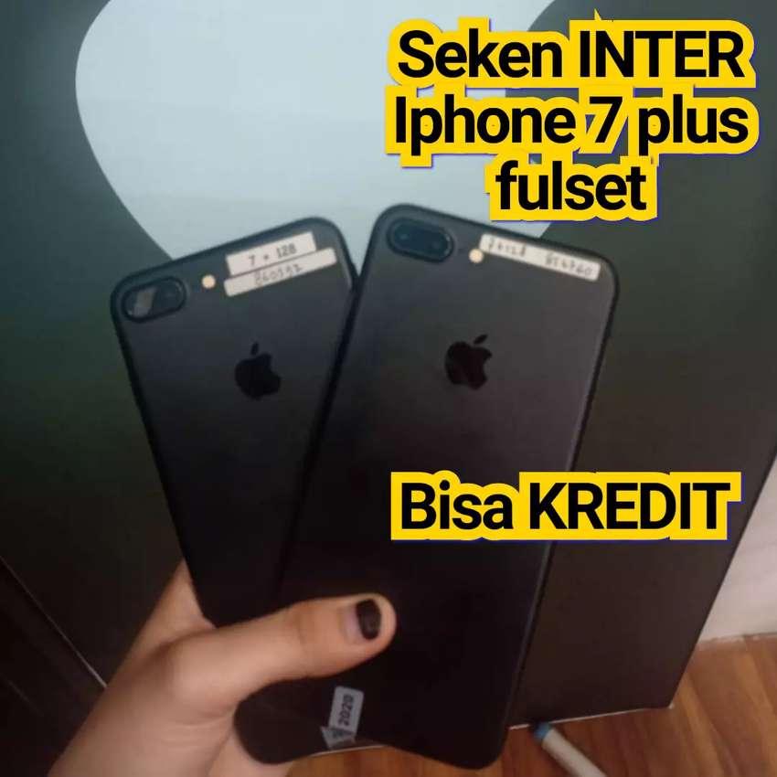 Seken internasional iphone 7 plus 32GB Like new 99% mulus 0