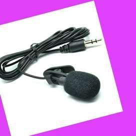 Mic Mikrofon EKSTERNAL =Kamera~HP~Laptop=Belajar Online Zoom~YouTuber