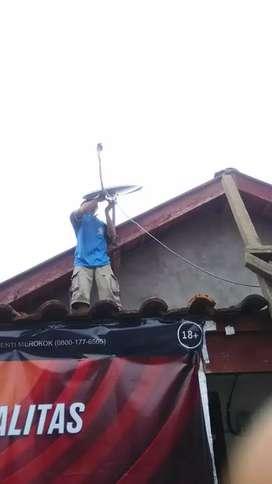 Siap pasang parabola mini kec Candi sidoarjo bebas bulanan