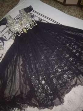 Black barbie gown