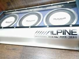Alpine Active Powered Subwoofer/Woofer built in amplifier