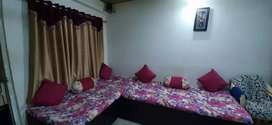 semi furnished 2bhk flat for sale