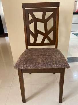 Nilkamal Solid Wood Dining Chair
