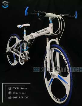 TCH BRAND NEW FOLDABLE BICYCLE WITH 21 SHIMANO GEARS COMBINATION