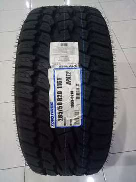 BARU TOYO OPEN COUNTRY AT BAN MOBIL MADE IN JAPAN 285/50 RING 20 BAGUS