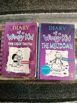 Diary of a Wimpy kid Combo, The Meltdown and the Ugly truth.