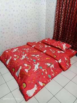 Jual Bed Cover Elegan Halus Kirim Kirim Kota Bima