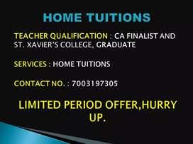 Home Tutor(CA Finalist)