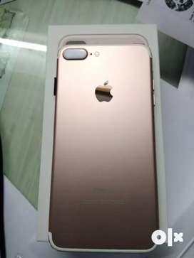 Get iPhone 7+ in working condition. Headphones and charger.
