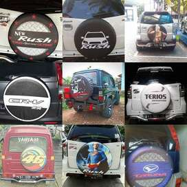 Sarung/Tutup Ban Serep JeepAll-Ecosport terios rush taruna MarkoTop be