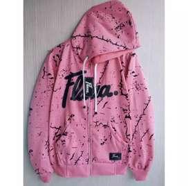 Jaket Flava Pink Bercak