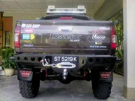 bumper blakngg khusus mobil double cabin