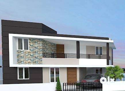 Get 90% Loan-3BHK House for Sale in kozhinjampara 0