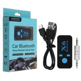 Bluetooth Receiver Audio Music Wireless Car X6 Multimedia TF-CARD