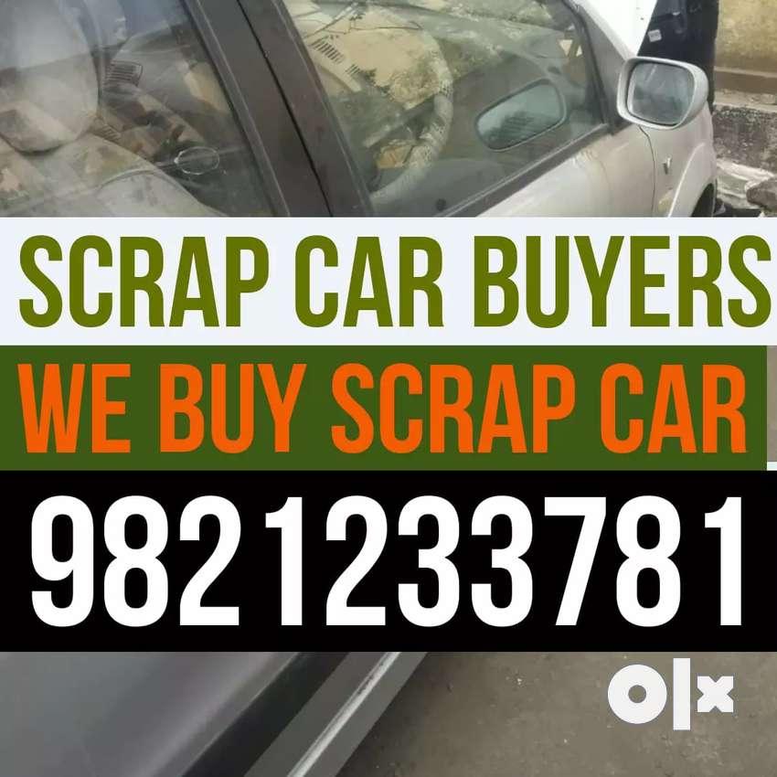Badddd condition scrap car buyer in mumbai