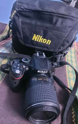 Nikon D5200 DSLR in perfect condition