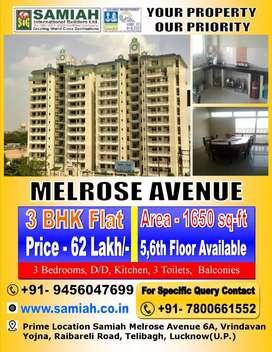 Ready To Move 3 BHK Flat For Sale Prime Location 6A,  Vrindavan Yojna