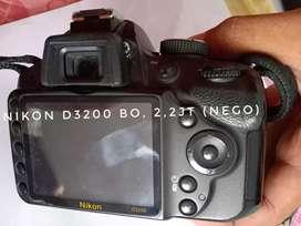Dijual Nikon D 3200 BO (Nego)