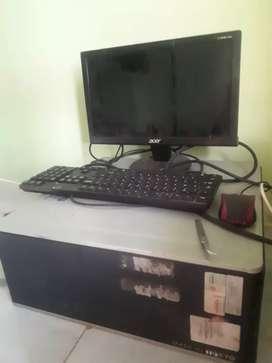 Komputer Buildup HP core 2 duo