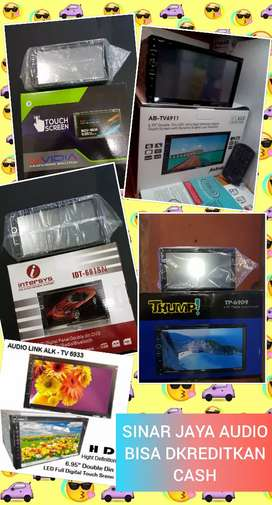 Tv Mobil Dvd Mirror Link 7 Inci (Dvd.Mp3.Usb.Mmc.Aux.Bluettoth)