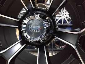 pelek mobil racing murah pajero r16 HSR wheel baut 6x139,7 Black