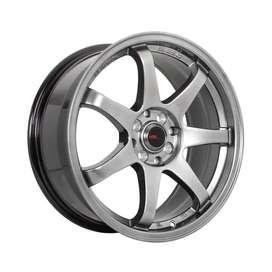 Velg mobil racing GTR sport R17x75 H8x100-114,3 mobilio,avanza,xenia
