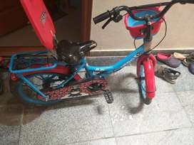 New kid's cycle 20 inch  on sale ( red and blue color)