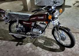 Yamaha rx 100 totally new