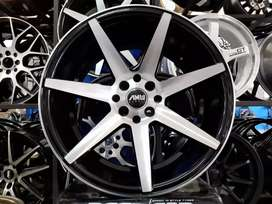 Velg model amw cv07 ring 17x7.5/9.0 jazz RS Avanza Veloz
