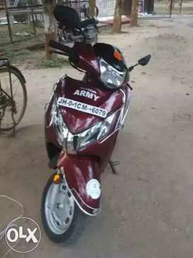 My Scooty is in good condition
