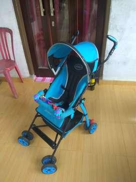 Stroler bayi pliko