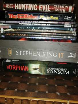 HORROR/THRILLER COLLECTION (Free book and Free DVDS)