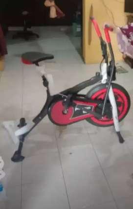 Anti gores bike statis double fungsi