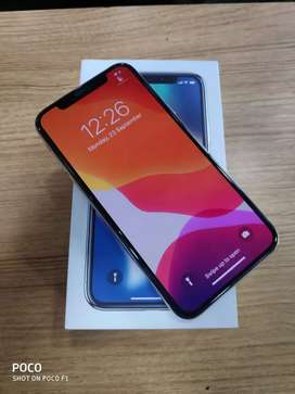Under Indian warranty apple iphone X 64Gb at 44900