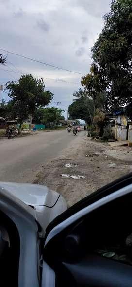 Tanah kosong Pinggir jalan besar