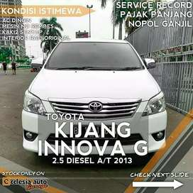 Toyota Kijang Innova G 2.5 Diesel Matic 2013 Putih