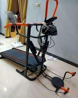 Treadmill manual buat olahraga di rumah 7f