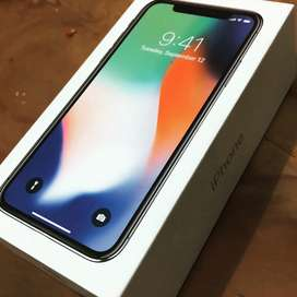 Iphone X with original charger and box