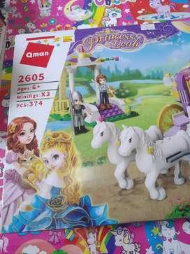 qman lego princess baru