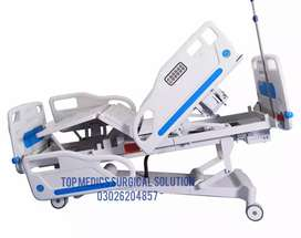 Nursing home use 3 functions electric patient hospital bed for elderly