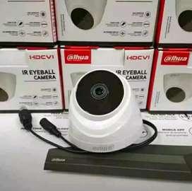 (Promo Resmi) Paket Kamera CCTV Komplit 2mp/1080p Free Jasa Instalasi