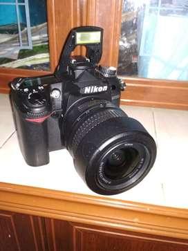 Dijual camera nikon D7000 lengkap satu paket