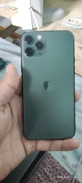 Iphone 11 pro 64 gb midnight green