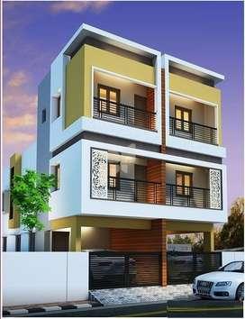 patancheru / indresham 1200 sft 2 br duplex row houses 40 laks