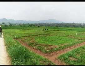 Jual Cepat Tanah Kavling Murah view pegunungan pinggir jalan pedesaan