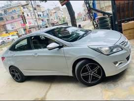 Hyundai Fluidic Verna 2015 Diesel very Good Condition