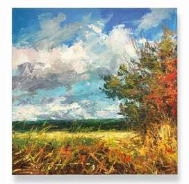 Handmade Landscape and abstract paintings