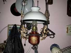 Lampu kerek mayolika full original 28cm,minus bandul, monggo dikoleksi
