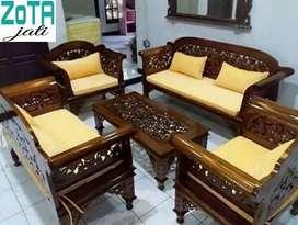 Jual kursi ukir jati mewah elegan antik dr Jepara langsung produksinya
