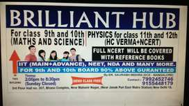 BRILLIANT HUB( interested students call or message)